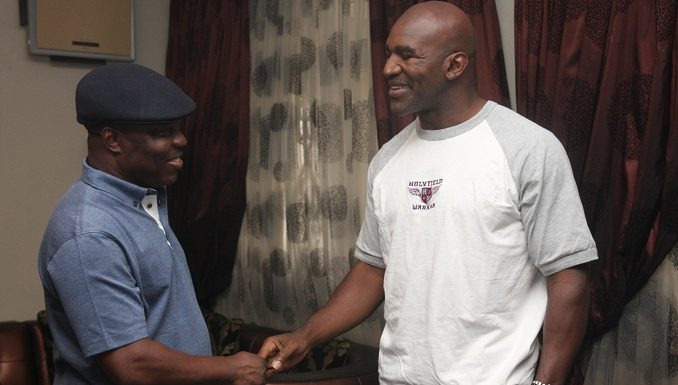 Olympics: Ex-Boxing Champ, Holyfield Spurs Delta Youths
