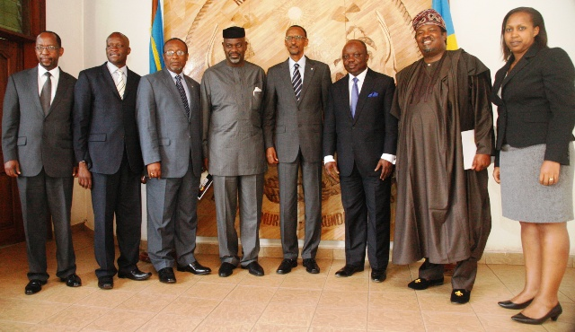 Conflict Resolution: South South Partners Rwanda On Challenges •Woos Kagame, Others For Economic Summit