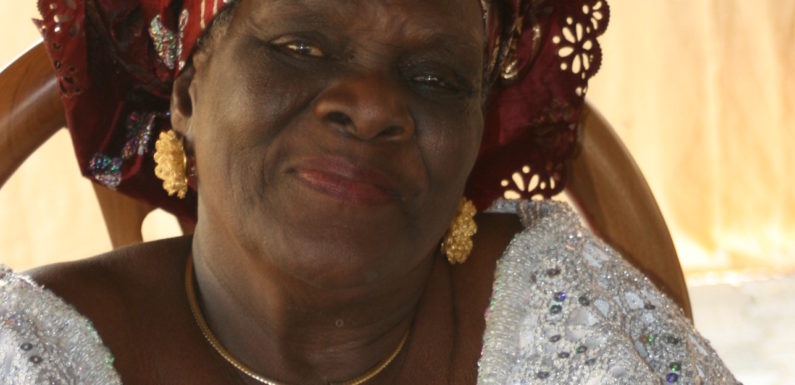 Uduaghan's Mother-In-Law, Mama Ayomike Passes On @ 81