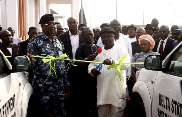 Uduaghan Gives Police 30 Patrol Vans ***As New Security Initiative Begins In Delta