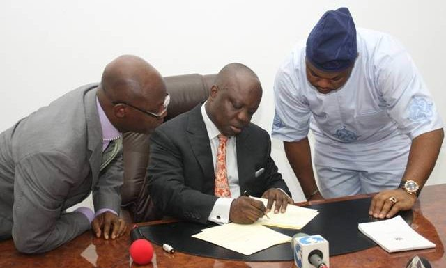 DELTA BUDGET: Uduaghan Signs 2013 Appropriation Bill Into Law