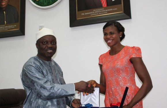 SPORTS: Okagbare Gets $360,000 Grant From Delta Govt *Earns Delta Youth Ambassador, As Uduaghan Urges Politicians To Depoliticize Her