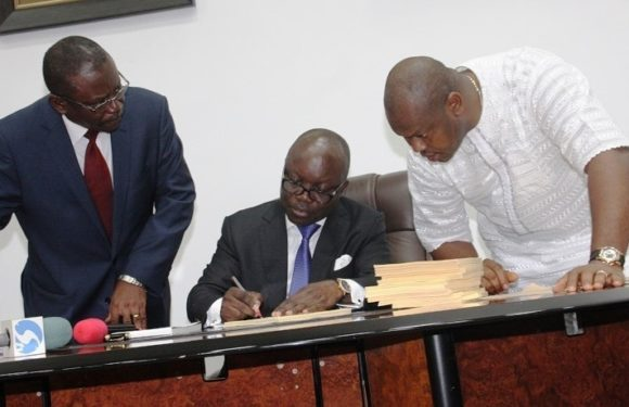 DELTA 2014 Budget: Gov Uduaghan Assents To N451 Bn Appropriation Bill