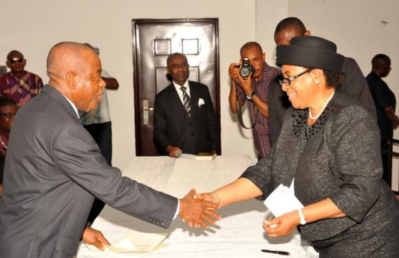 Gov. Orji Urges Judges To Sustain Impartial Integrity *As Chioma Otti Becomes Abia Chief Judge