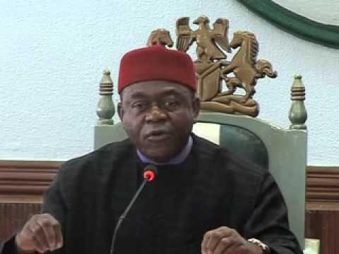 Gov. Orji Condoles with Families of Jos Bomb Blasts Victims  *Describes act as barbaric, wicked