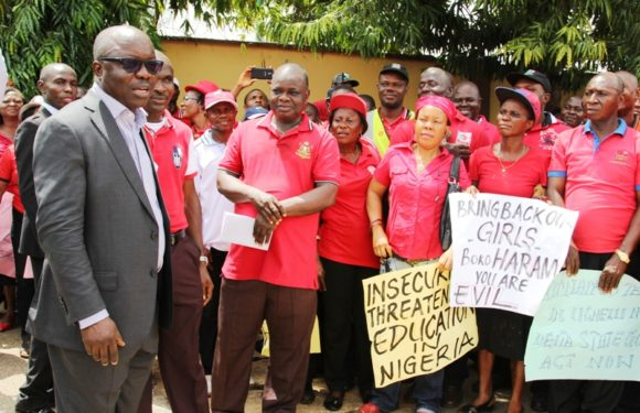 Teachers Dare Boko Haram: Uduaghan Cautions NUT On Closure of Schls Over Chibok Abduction