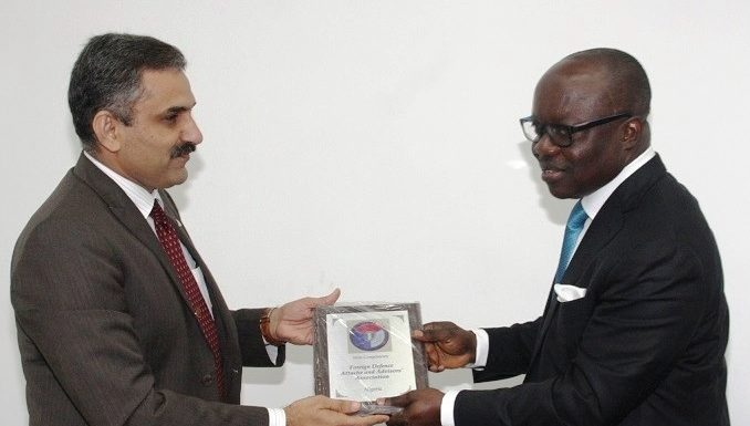 Uduaghan Calls for Global Collaboration against Terrorism *As Defence Attaches thumps up for Uduaghan's Economic Model