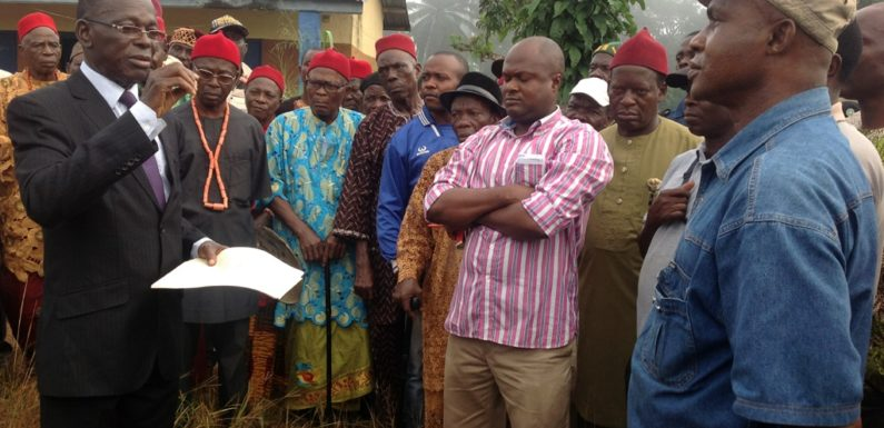 Delta: Protesters Stop Work At RENL, Utagba-Uno Over Neglect Of Host Community