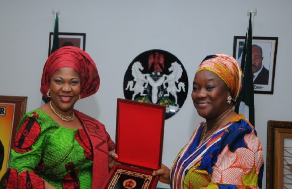 AKPABIO'S WIFE BLAMES NIGERIA'S WOES ON DECLINE OF FAMILY VALUES *Donates N2m to widows of fallen heroes