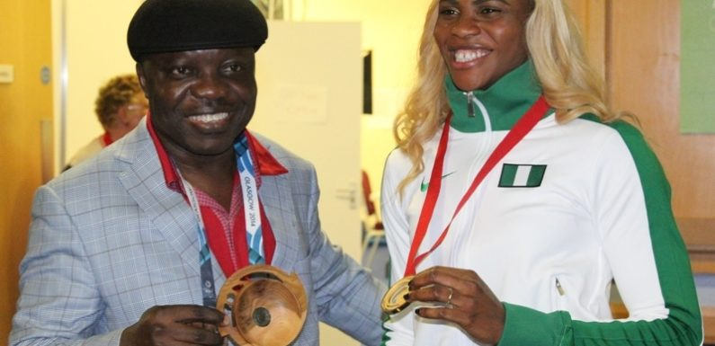 Okagbare Justifies Uduaghan's Support: Seals Sprint Double, Wins 200m