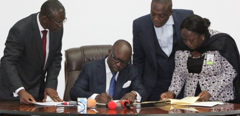 Delta Grants Judiciary Financial Autonomy  *As Uduaghan Signs Two Bills Into Law