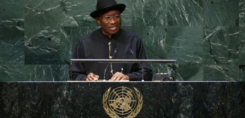 UN General Assembly: Jonathan Seeks Global Collaboration To End Terrorism