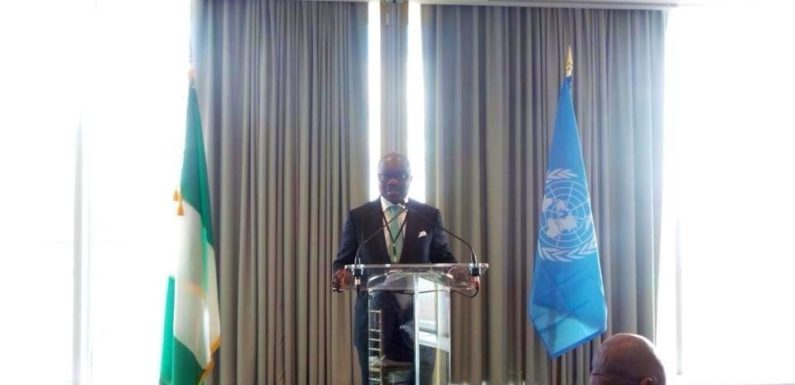 """Crude Oil Theft, Threat To International Peace"" -Says Uduaghan @ UN Assembly"