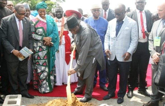 """$16Bn Gas City Project Will Provide Over 4M Jobs""  *Says Jonathan @ Ground-breaking Ritual In Delta"