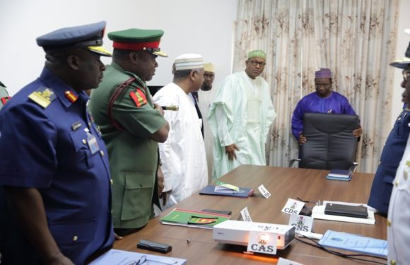 Buhari Appoints New Service Chiefs *Sacks NSA, Others