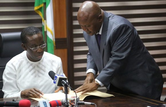 Okowa Signs DESOPADEC Bill Into Law *As Delta Govt Begs HOSTCOM To Re-open Shut Oil Facilities