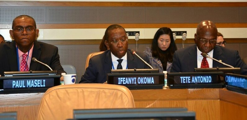 """Job, Wealth Creation Key To Global Peace, Security"" -Says Okowa @ United Nations' Forum"