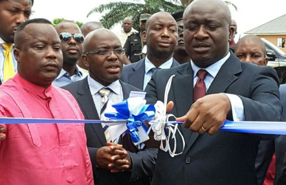 Okowa Commissions Amenity Ward At Kwale …Lauds Midwestern Oil And Gas Company