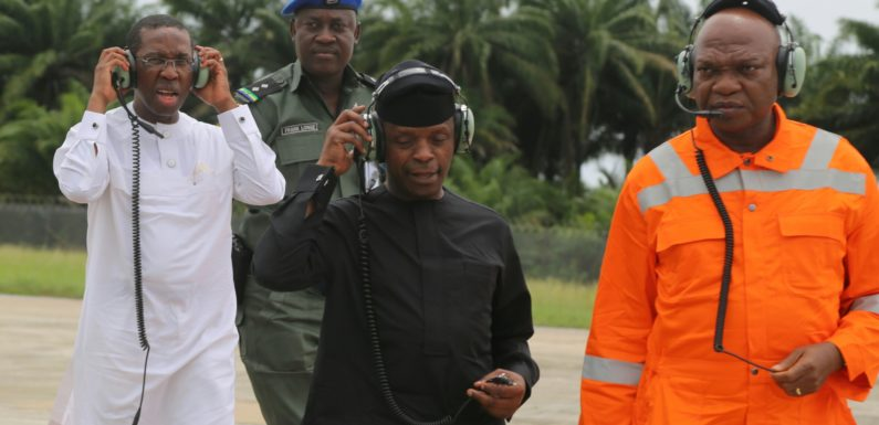 Pipeline Vandalism, Worst Kind Of Terrorism –Prof. Osinbajo ***Focados Export Terminal Begins Operations Soon- Okowa