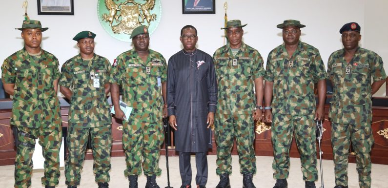 Military Invasion Imminent, As Army Plans Amphibious Training In Niger Delta Creeks ***Okowa Tells Military To Explore Public Consent Before Actions