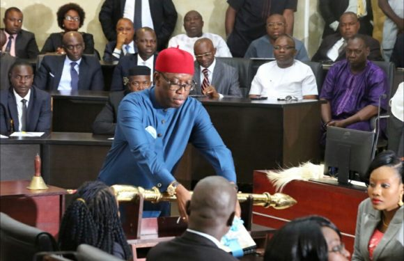 Delta Gov. Okowa Presents 2020 Proposed Budget To House Of Assembly Today, Nov. 6