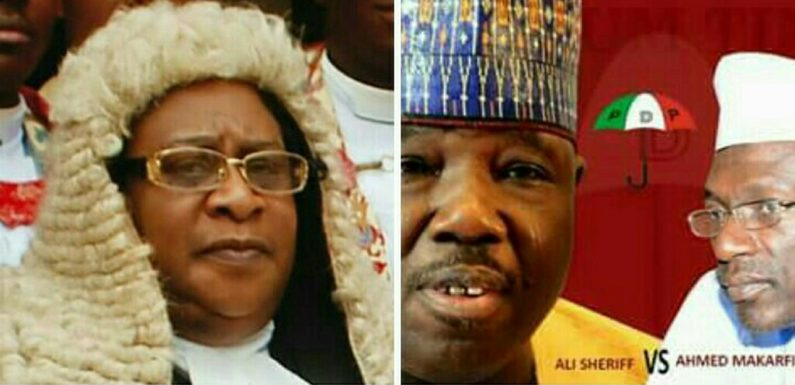 PDP PANICS OVER JUSTICE ABANG POSTING TO DELTA STATE ***AS GROUP ALLEGES HE'S APC STOOGE