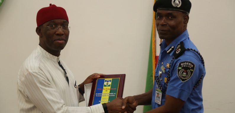 AIG VISITS DELTA: OKOWA PLEDGES TO ASSIST POLICE, OTHER SEURITY AGENCIES, CREATES 6 SPECIAL COURTS TO TRY KIDNAPPERS