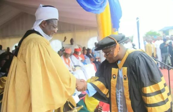NAME Gets Atiku's Commendation, As He Bags Doctorate Degree **Ajimisogbe Vows To Mobilize Nigerians For Atiku