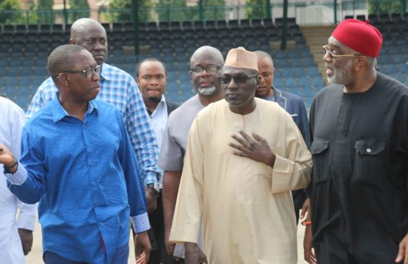 """PDP CONVENTION: """"We're Set For A Bold Outing"""" —Gov Okowa Boasts *As Makarfi Assures Of Resolution Of South West PDP Crisis"""
