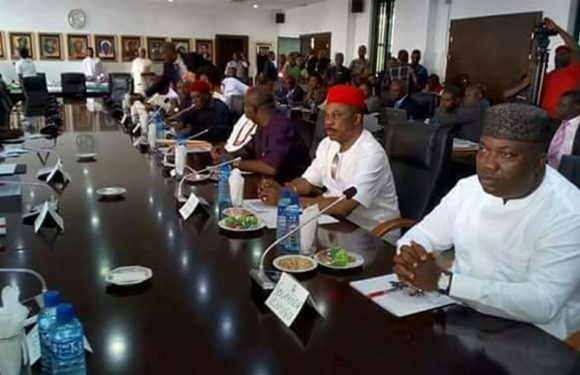 BREAKING NEWS: SOUTH-EAST GOVS OF NIGERIA OUTLAWS IPOB