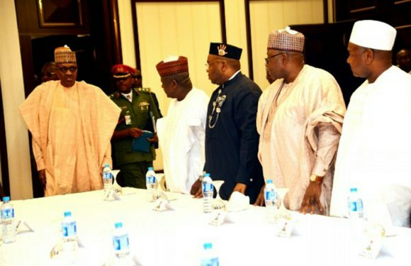 Buhari to governors: How can you sleep without paying workers?