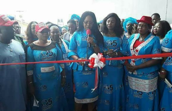 DELTA FIRST LADY, DAME EDITH OKOWA COMMISSIONS 10TH SICKLE CELL CLINIC, OREROPKE *Commends Partners In Health Delivery To Less Privileged