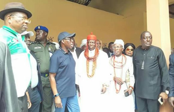 Orodje Of Okpe Lauds Gov. Okowa On Projects Delivery *As Okowa Resumes Town Hall Parleys, Inspects, Commissions Projects In Udu, Okpe
