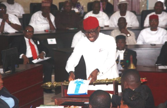 Gov. Okowa Presents N298 Bn 2018 Budget Of Hope, Consolidation *Education N18 Bn *Health N6.6 Bn *Environment/Urban Renewal N2.2 Bn *DESOPADEC N28 Bn *DSCTDA N3 Bn