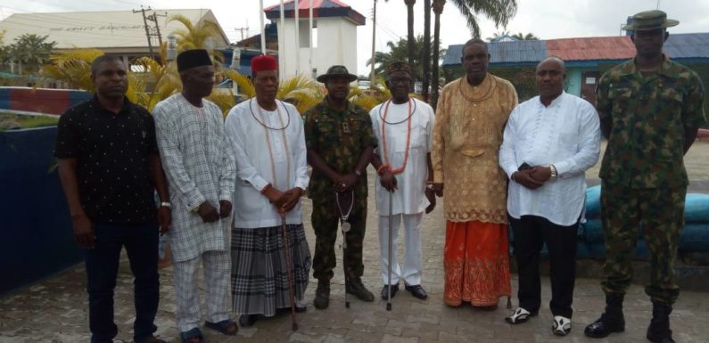 Riverine Security: Ijaw Communities Pay Thank You Visit To 19 Battalion, Koko