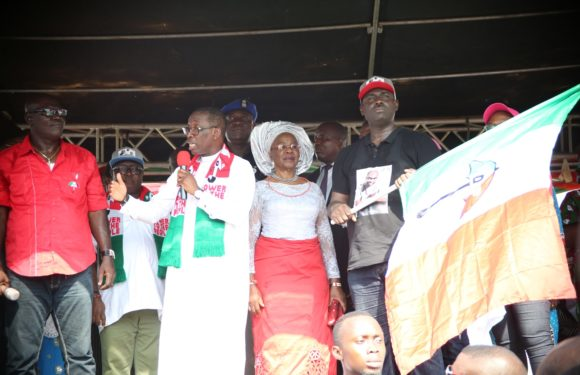 Delta PDP LG Candidates Are Tested, Trusted –Gov. Okowa  ***We Will Deliver All PDP Candidates –Bashorun Askia