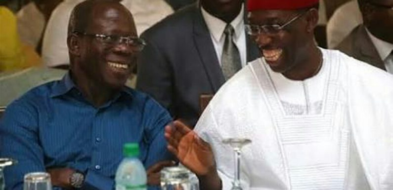 2019 Political Brouhaha: Oshiomhole And Okowa Fight Dirty