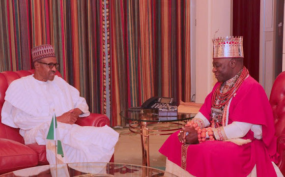 UGBORODO TO BUHARI: YOU HAVE BEEN DECEIVED BY OLU OF WARRI VISIT TO PRESIDENTIAL VILLA