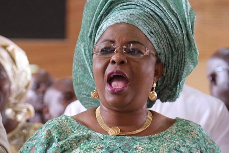Patience Jonathan Parleys EFCC For Out Of Court Settlement