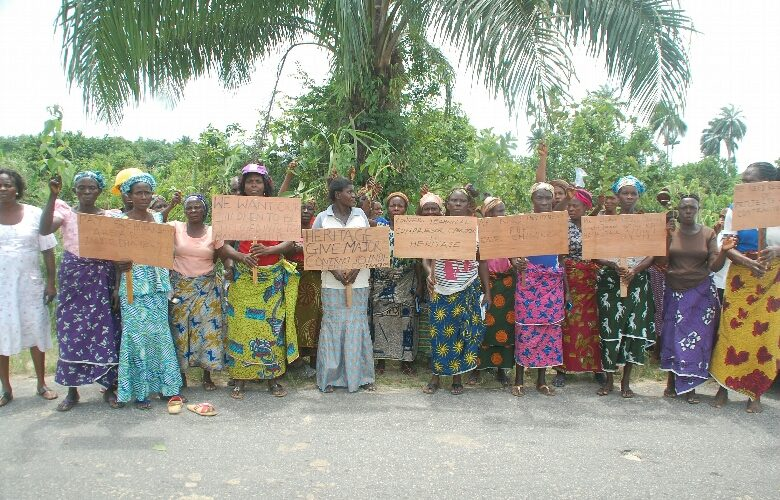 Nigerian Soldiers Brutalize Delta Women On Peaceful Protest Against Marginalization, Neglect By Oil Companies