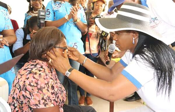 25,000 Medicated Eye Glasses For Grabs In Delta LGAs: Dame Okowa Insists 05 Initiative Free Grassroots Medical Outreach Is For All Deltans