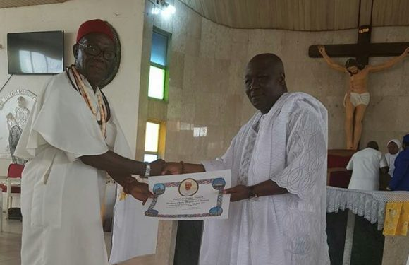 Bashorun Askia Gets Prestigious Papal Award