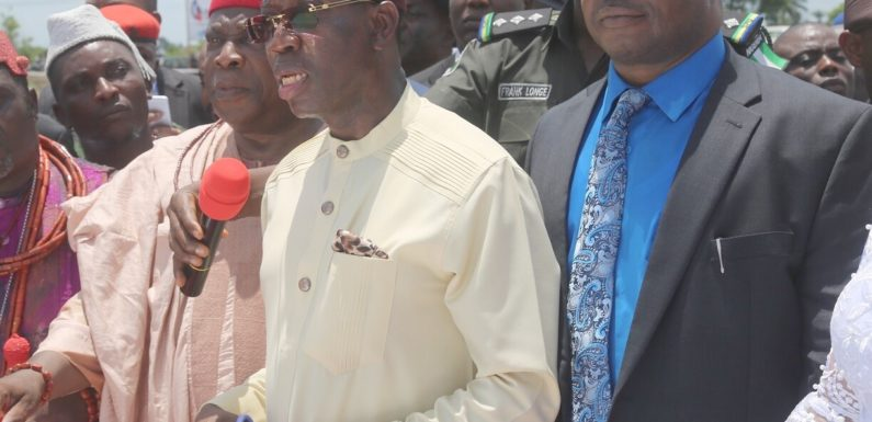 Gov. Okowa Performs Ground-Breaking For 400 MW Power Plant In Delta