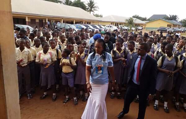 Dame Okowa's 05 Initiative Takes Campaign On Drug Abuse, Cultism To Schools In Delta