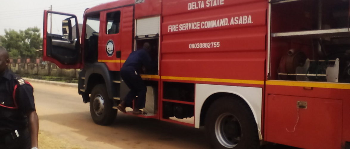 DELTA FIRE SERVICE COMMAND GETS N10 MILLION INSURANCE COVER