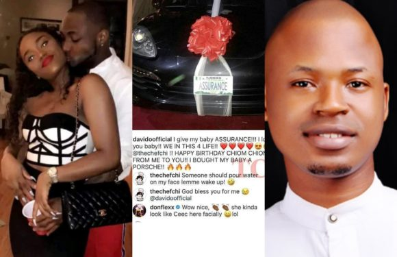 Ossai attacks Davido over N45million Porsche for girlfriend