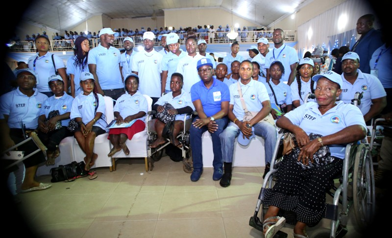 Empowerment: Gov. Okowa Inducts 745 Youths For STEP/YAGEP  **Seeks Public/Private Partnership