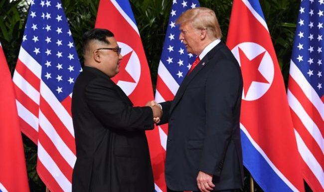 Singapore Summit: Trump Nominated For Nobel Peace Prize