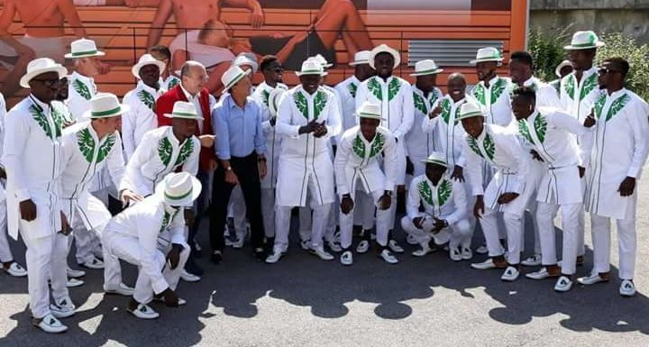"Despite Poor World Cup Play, Super Eagles Win ""Best Fashion Team"" Award In Russia"