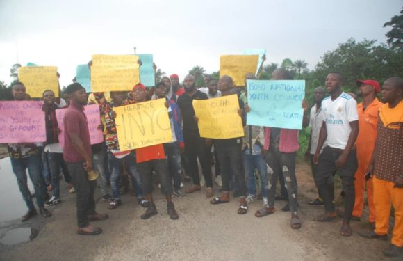 ISOKO NATIONAL YOUTH COUNCIL STAGE PEACEFUL PROTEST AGAINST HERITAGE ENERGY OIL FIRM